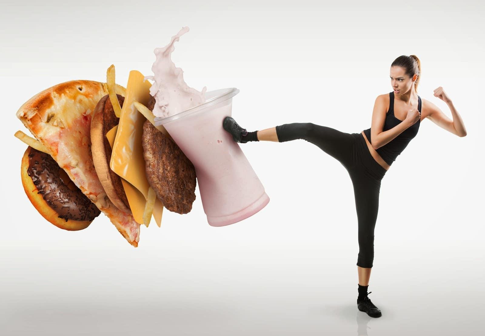 Žena co chce žít zdravě