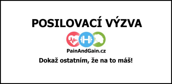 Posilovací výzvy painandgain.cz