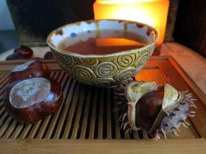 Příklad servírování červeného čaje na hubnutí