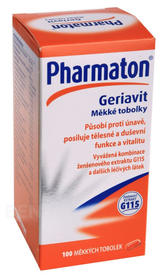 Balení Pharmaton Geriavit