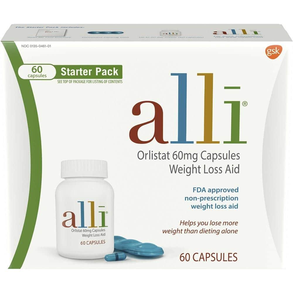 Alli patří mezi prášky na hubnutí, při kterých je nutné současně s jejich užíváním dodržovat nízkokalorickou dietu.