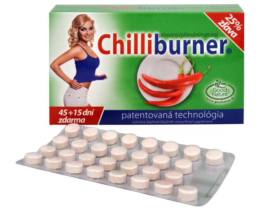 Chilliburner slibuje účinky na hubnutí i bez diety. Doporučuji vyzkoušet.