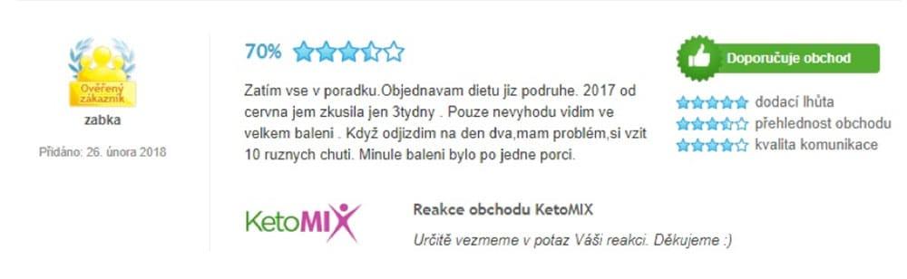 Recenze na dietu KetoMix.