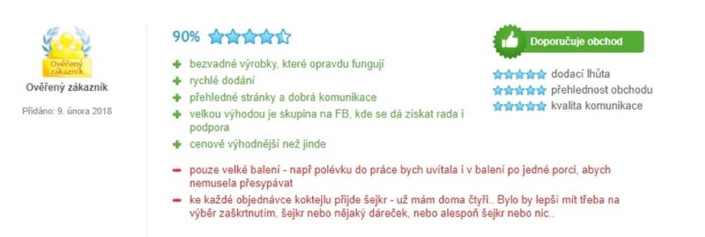 Alt: Pozitivní recenze na dietu KetoMix.