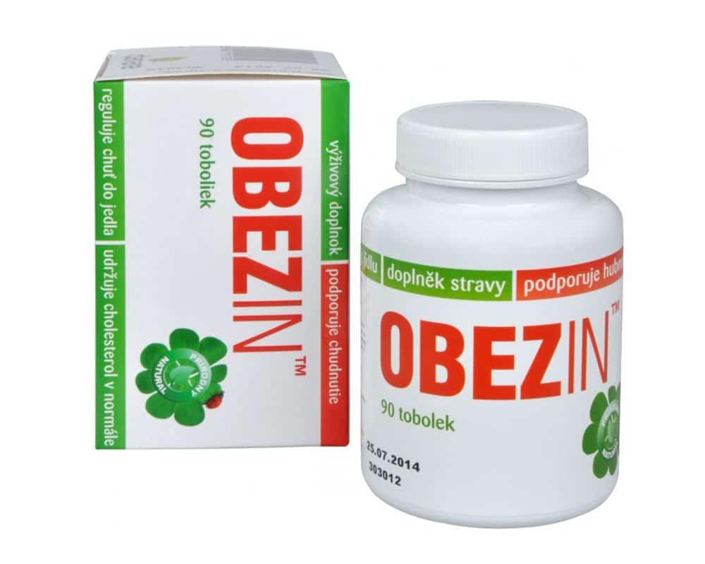 Obezin patří mezi vyhledávané české prášky na hubnutí.