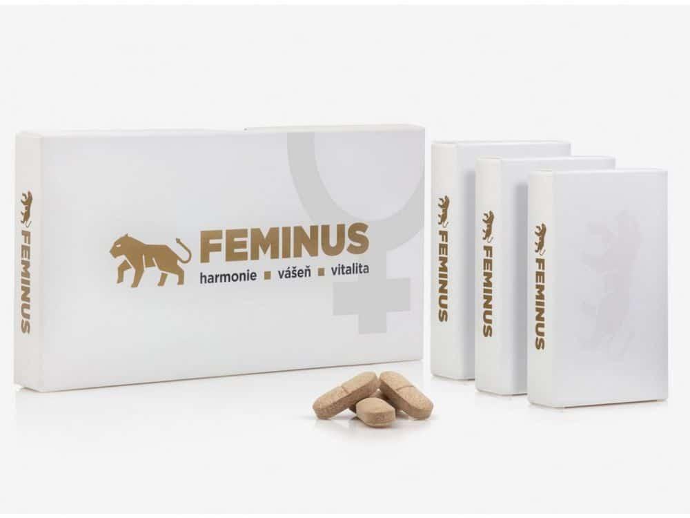 FEMINUS jsou přírodní vitamíny pro ženy