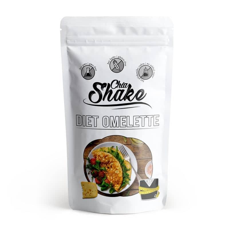 Chia Shake vyrábí nejen koktejly, ale i dietní omelety.