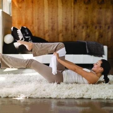 Účinný cvik na přímé břišní svaly