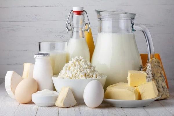 Mléčné výrobky a jejich konzumace po porodu