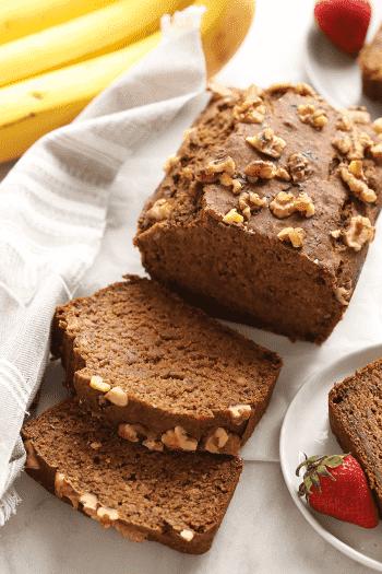 Recept na zdravý batátový chleba