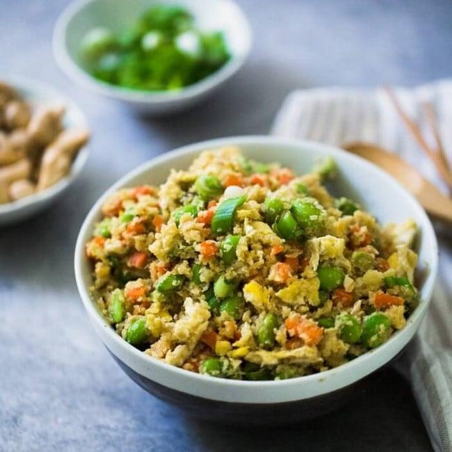 Výtečný recept na květákovou rýži