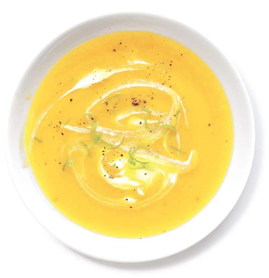 Recept na řeckou citronovou polévku
