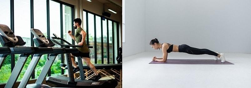Chybou při hubnutí může být nerovnováha mezi kardio cvičením a posilováním.