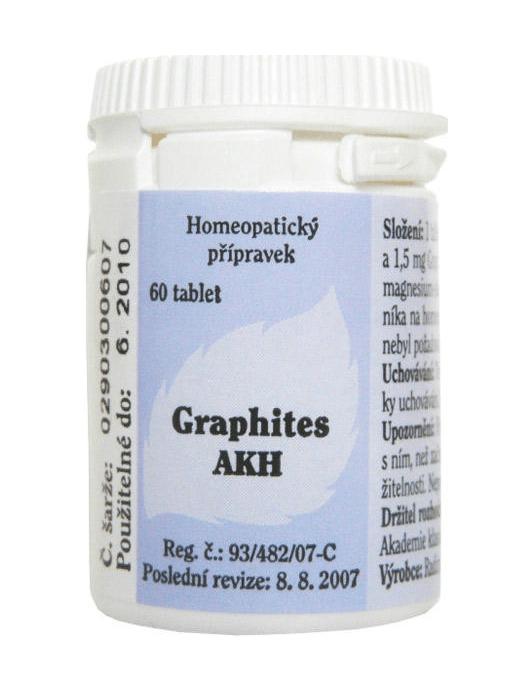 Graphites jsou homeopatika na hubnutí, která obsahují uhlík.