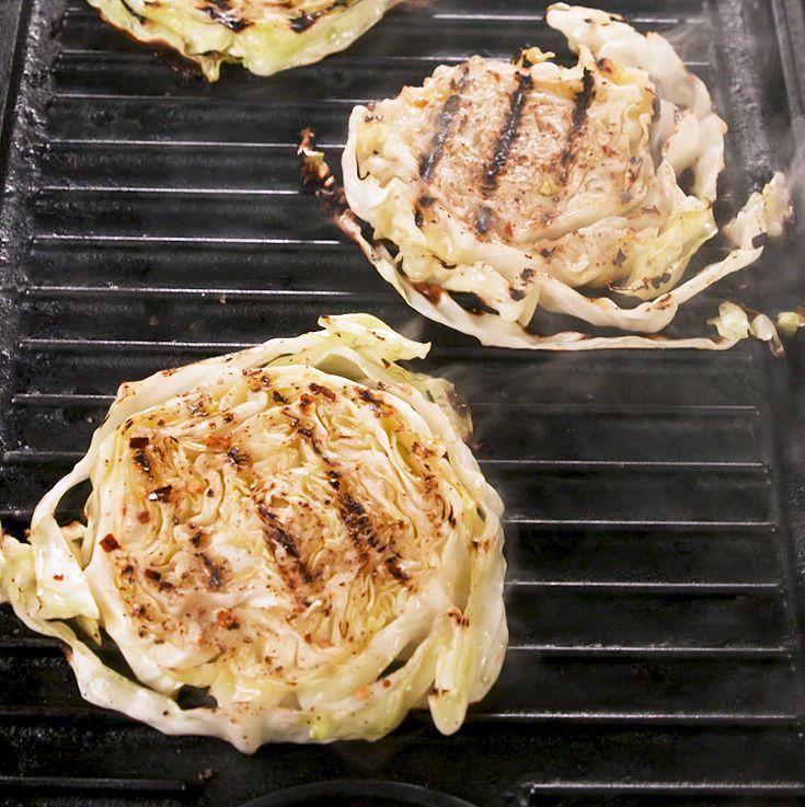 Udělejte si grilované zeleninové steaky