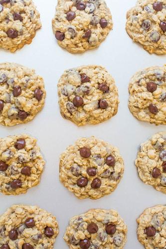 Recept na jednoduché ovesné sušenky