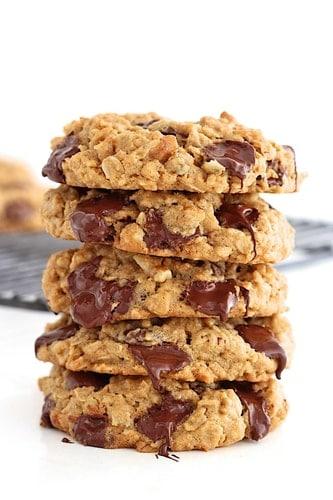Recept na fitness ovesné sušenky bez mouky