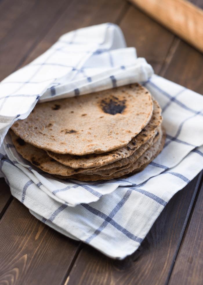 Skvělý recept na celozrnné tortily