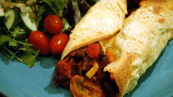 Výtečný návod, jak zapéct tortillu