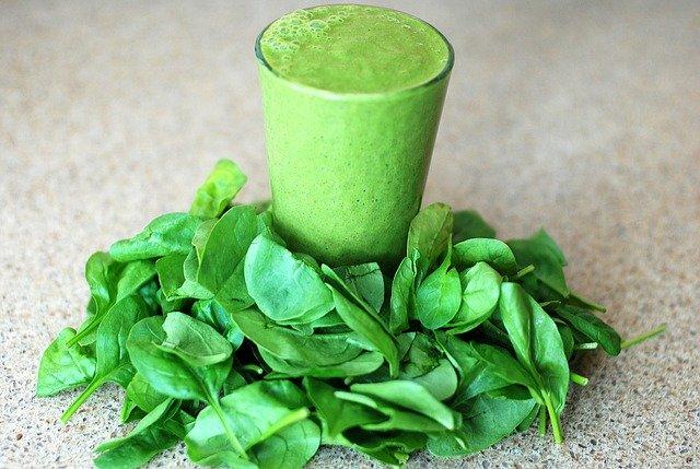 Recepty na smoothie ze zelené zeleniny