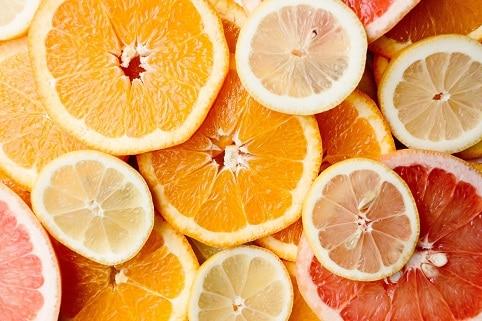 Potraviny proti rakovině obohacují citrusy, které mají spoustu vitamínů.