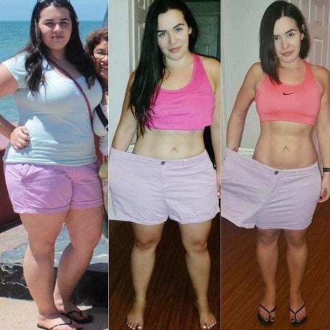 Dukanova dieta pomohla dívce zhubnout za pár týdnů.