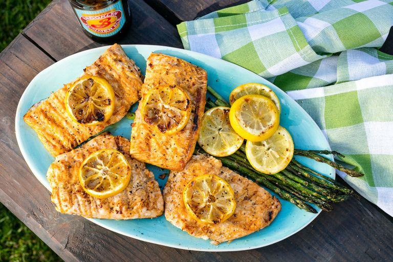 Skvělý recept na grilovaného lososa