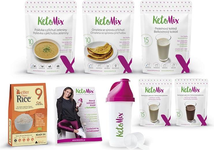 Keto dieta ketomix jsou proteinové balíčky s předpřipravenými jídly.