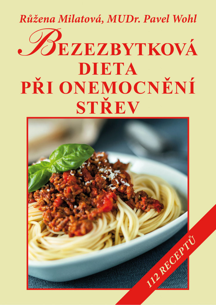 Kniha Bezezbytková dieta při onemocnění střev.