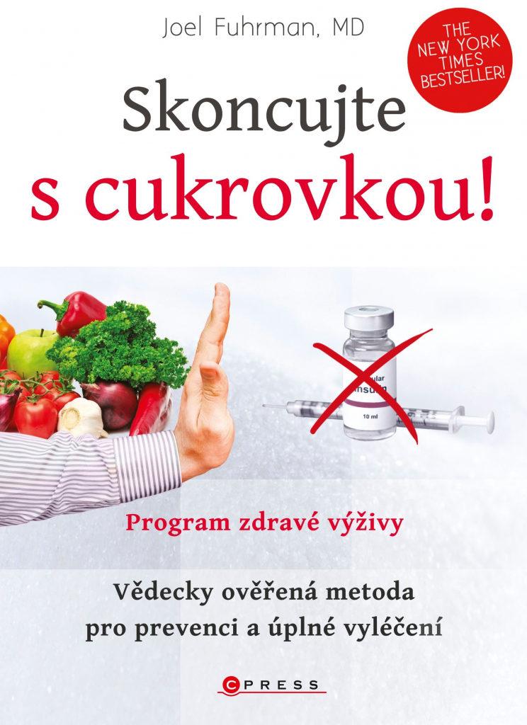 Přebal dietní knihy Skoncujte s cukrovou.