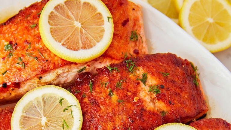 Hotový recept na lososa na pánvi