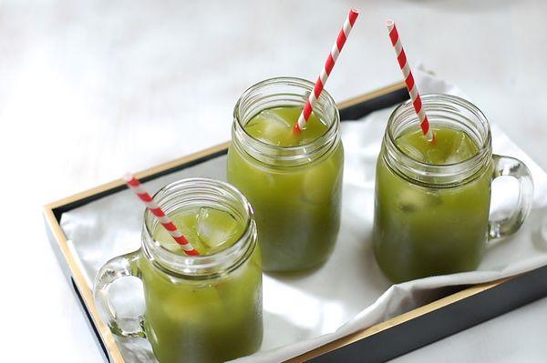 Návod na okurkovou limonádu s jablkem