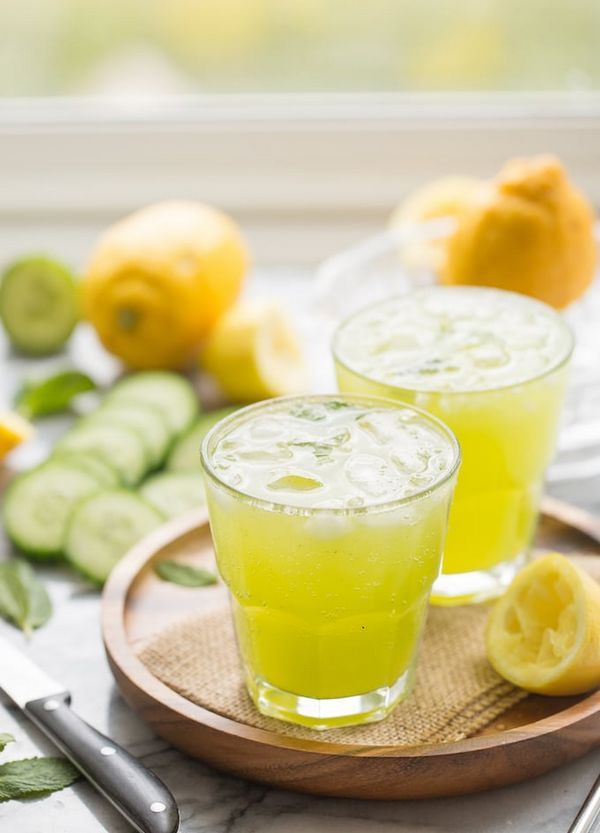 Rychlý recept na okurkovou limonádu