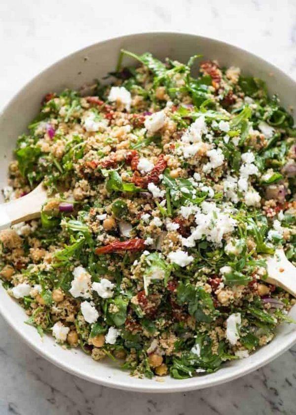 Výtečný recept na salát s kuskusem