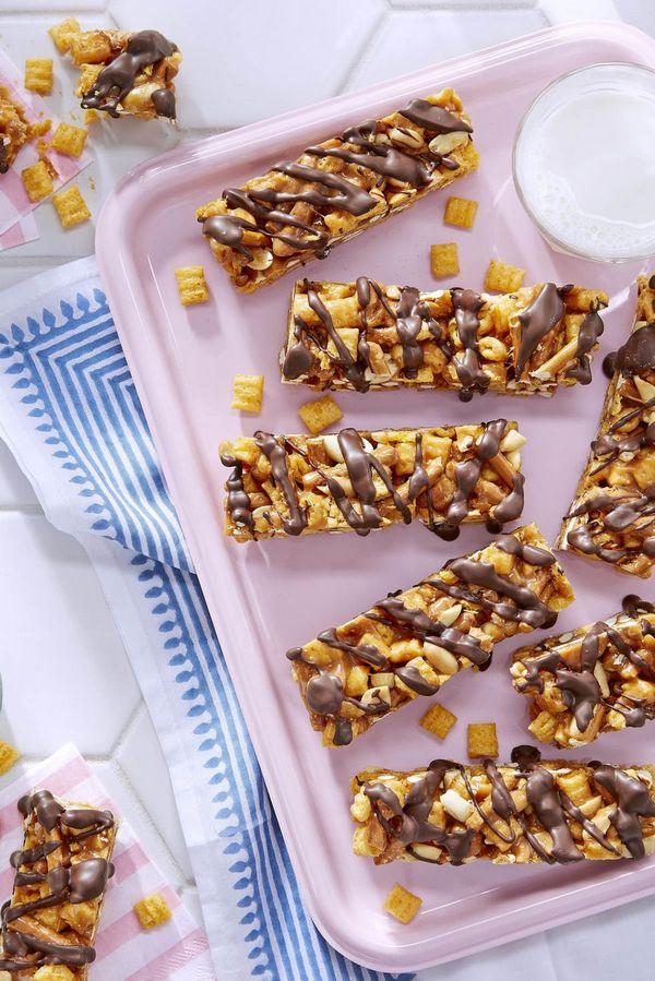 Hotový recept na fitness tyčinky z arašídového másla