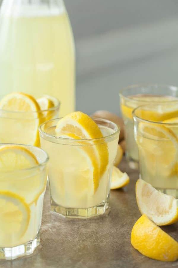 Výtečný recept na zázvorovou limonádu