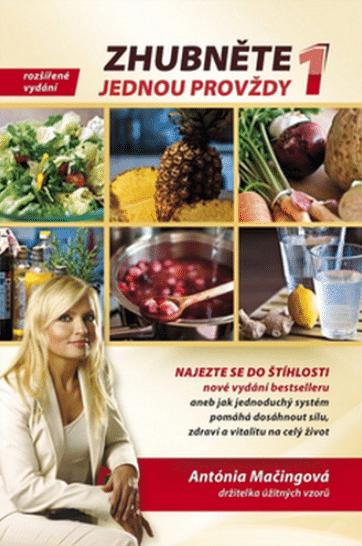 Mezi bestsellery knih o hubnutí patří Zhubněte jednou provždy 1.
