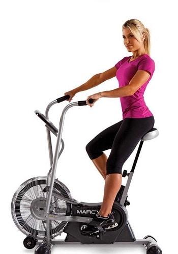 Vzduchová kola (air bikes) umožňují jízdu na rotopedu a hubnutí pouze za pomoci vlastní síly.