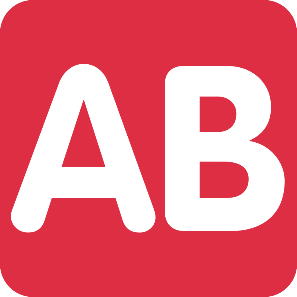 Krevní skupina typu AB