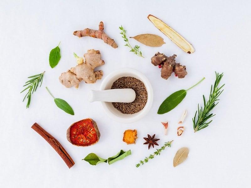 Zázvor je možné kombinovat také s jiným kořením nebo potravinami, jako je například rozmarýn nebo skořice.