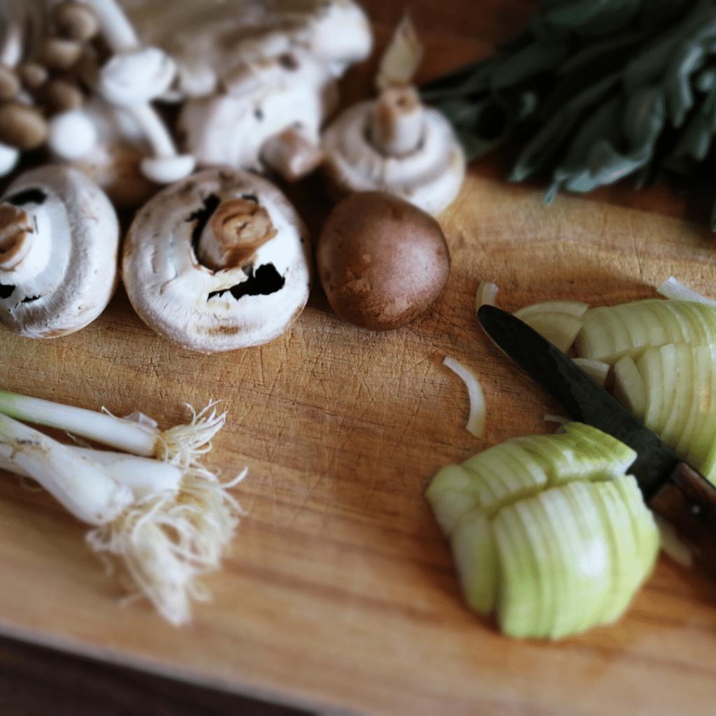 Zelenina a houby