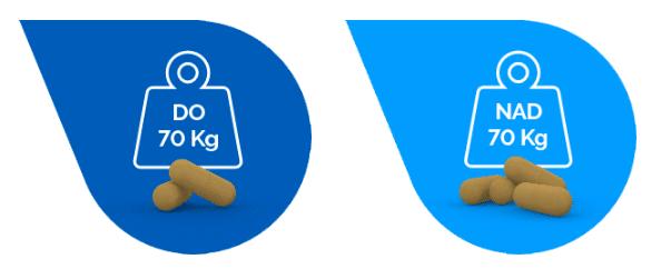 Dávkování doplňku stravy H2Out