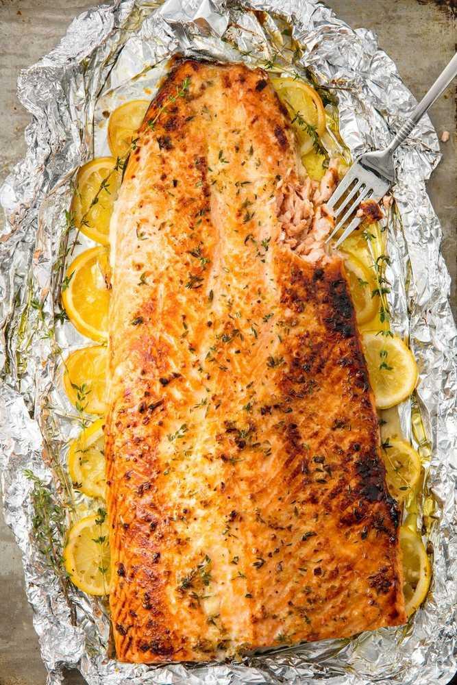 Skvělý recept na losos na másle