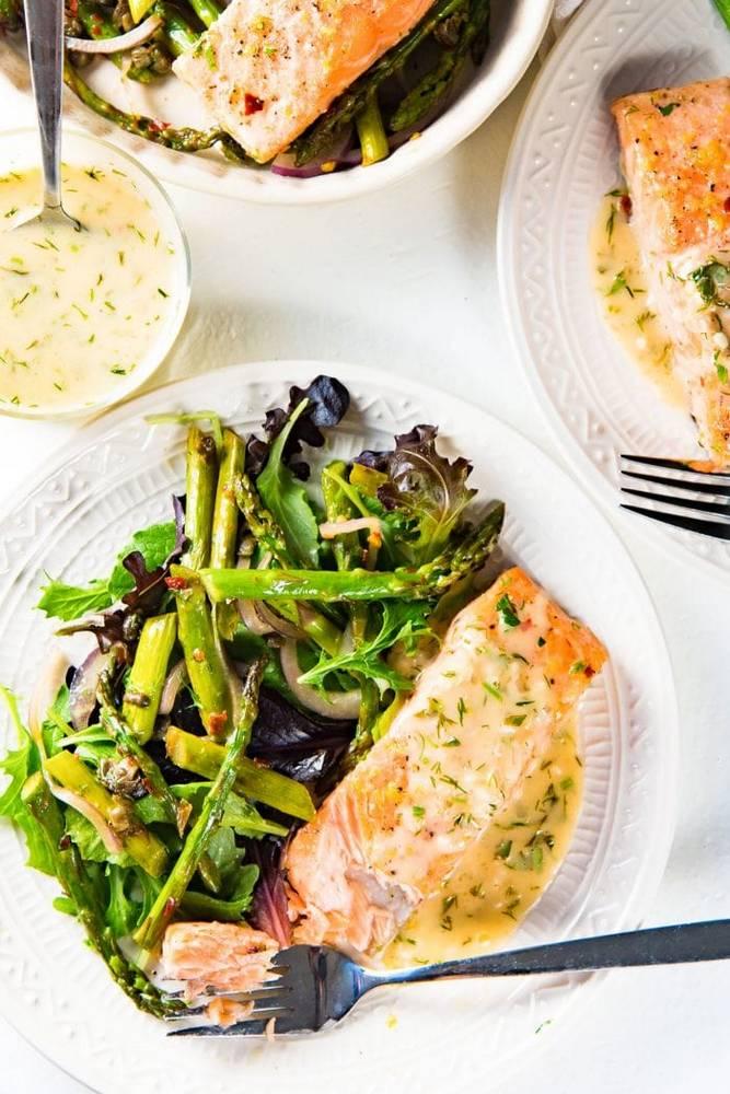Skvělý recept na losos s citronovou omáčkou