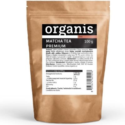 Organis Matcha tea Premium