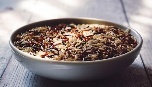 3denní dieta modelek obsahuje zeleninu, maso a zdravé sacharidy ve formě hnědé rýže.