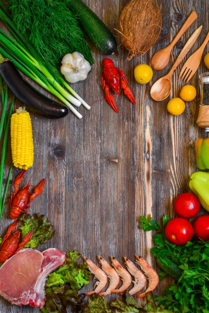 zelenina, jídelníček při Durowově dietě