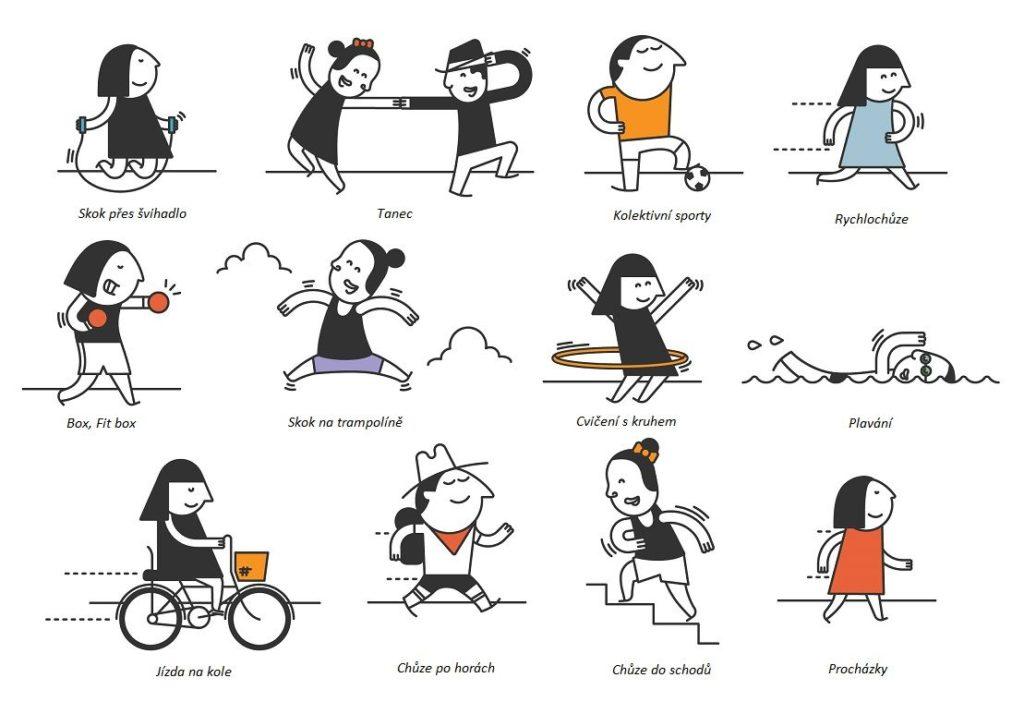 Aerobní cvičení nemusí být nuda, pokud je zvolen ten správný sport.
