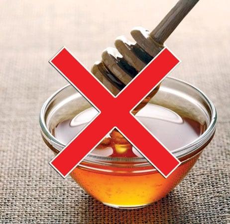 Med není vhodný pro kojence, děti do 1 roku a alergiky.