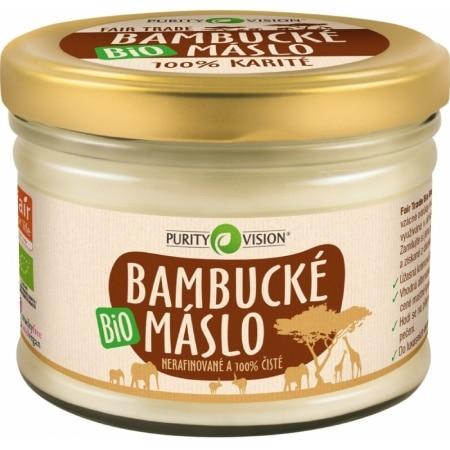 Bambucké máslo Purity Vision 100 % bio